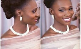 25 Inspiring Natural Haired Bride Looking Stunning