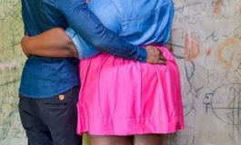 Romantic Engagement Pictures of Ghanaian Couples Ridiculed Because She is Plus-size