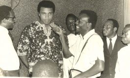 9 Rare Photos Of Muhammad Ali's Visit to Nigeria