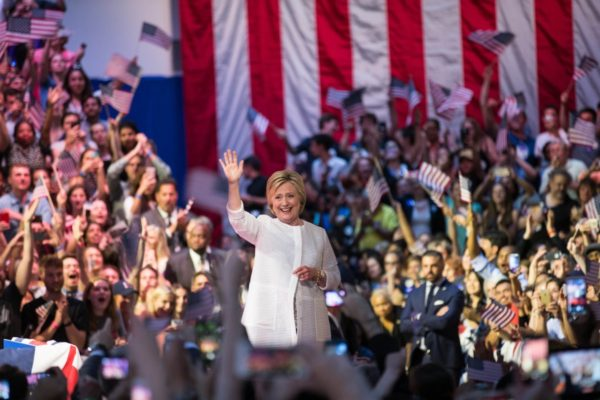 Hillary Clinton Officially Becomes Democratic Party's Presidential Nominee