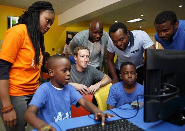 Facebook CEO, Mark Zuckerberg Visit Nigeria