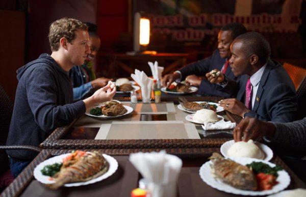 Mark Zuckerberg in Kenya After Spending Two days in Lagos