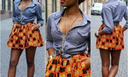 30 Cute Ankara Short Skirt Styles For Classy Ladies