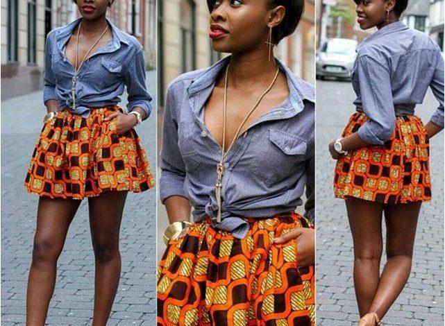 30 Cute Ankara Short Skirt Styles For Classy Ladies