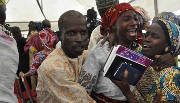 Photos Of The 21 Chibok Girls Reunion With Their Parents Will Leave You In Tears