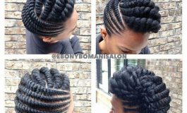 How To Replace Your Cornrows With These Flat Twist Braids