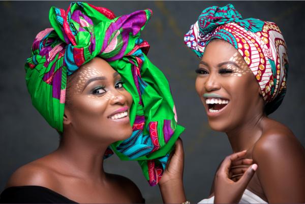 Genevieve Beauty Awards Host, Vimbai Mutinhiri's Celebrates African Beauty With Ruby Gyang