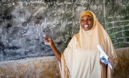 She is The Only Female Teacher in Her School, She Now Encourages More Girls To Go To School