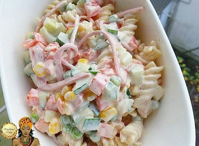 6 Easy Steps On How To Make Pasta Salad