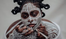 Nigerian Body Artist Uses The Body As His Canvas