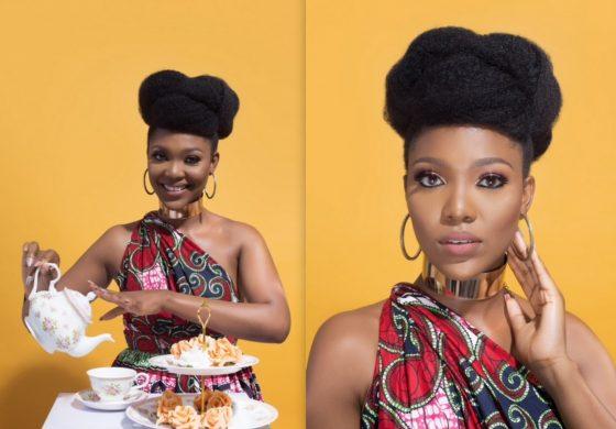 Beauty Entrepreneur, Nowe Isibor Shares Ankara Tea Party Inspired Photo