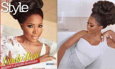 Media Entrepreneur Linda Ikeji Delights Fans As Covers Girl ThisDay Style Magazine